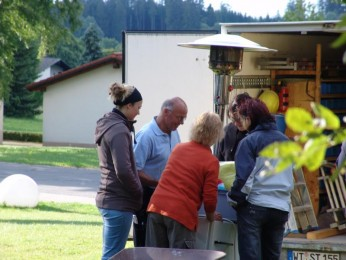 2011 Sommertraum Aufbau
