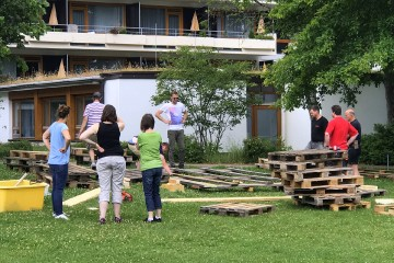 2017 Sommertraum Aufbauarbeiten